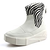 WZX New autumn boots Japanese vintage Rock shoe Europe and thick bottom high platform shoes sneakers