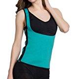 LaLaAreal Women's Sbr Diving Material Sweat Suit, Lost Weight Waist Trainer Vest