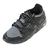 Puma Men's Blaze Tech Mesh Lace Up Trainer Steel Grey