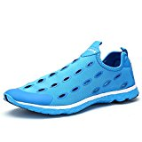 Water Shoes Aleader Women's Slip On Walking Shoes