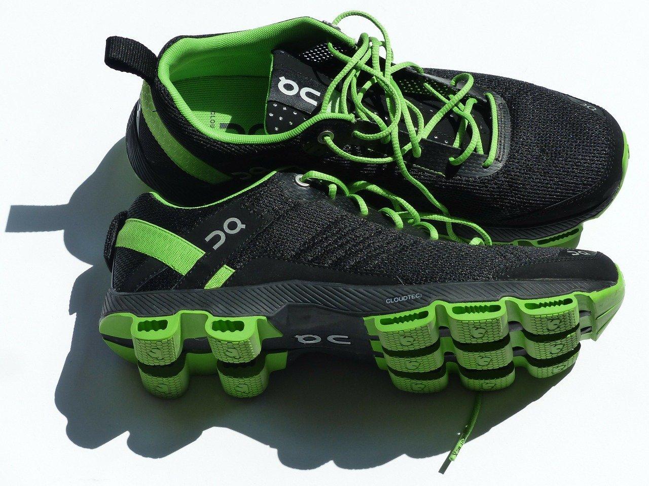 Sneakers black photo